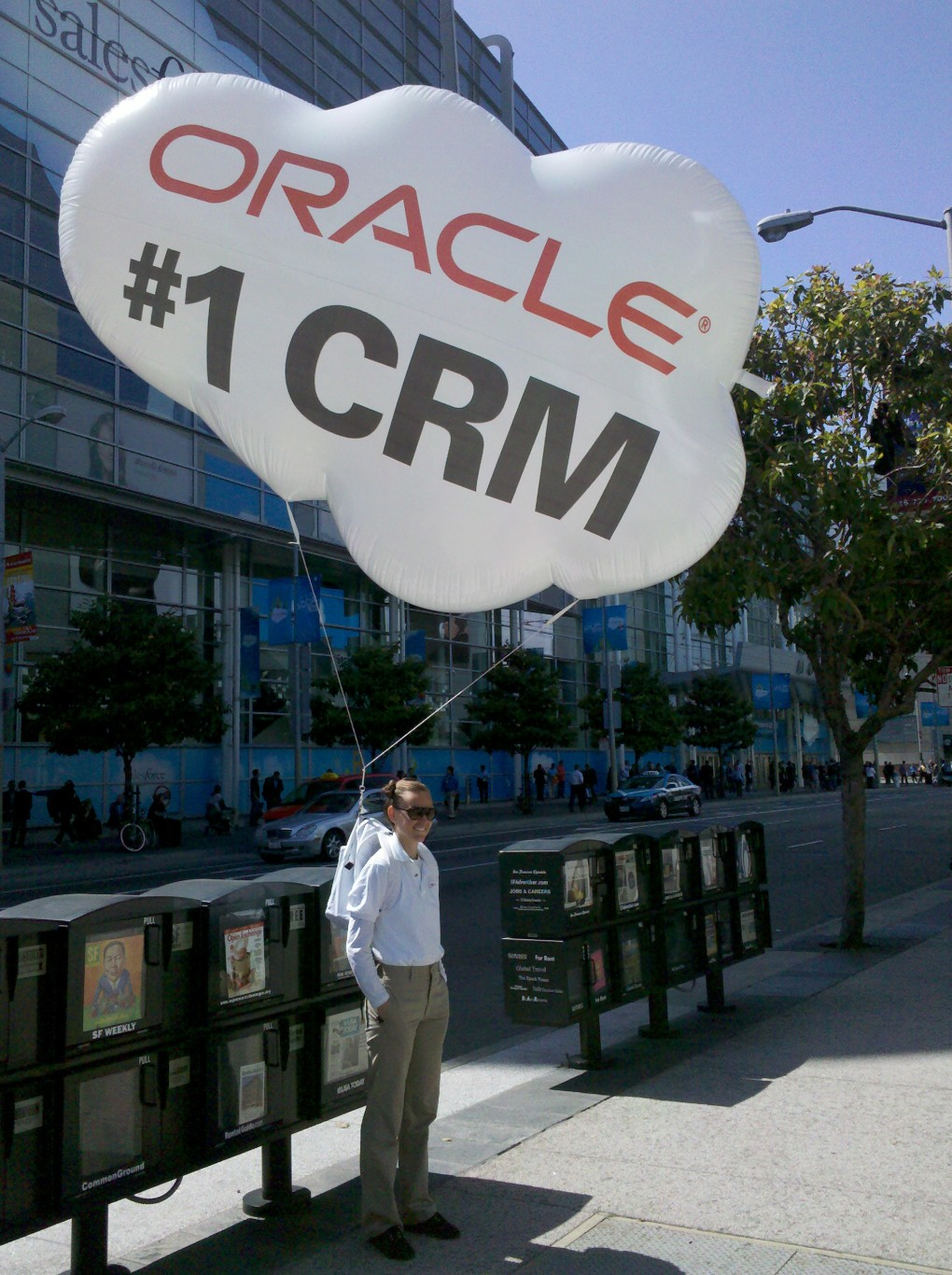 Dreamforce 2011 Oracle Scum