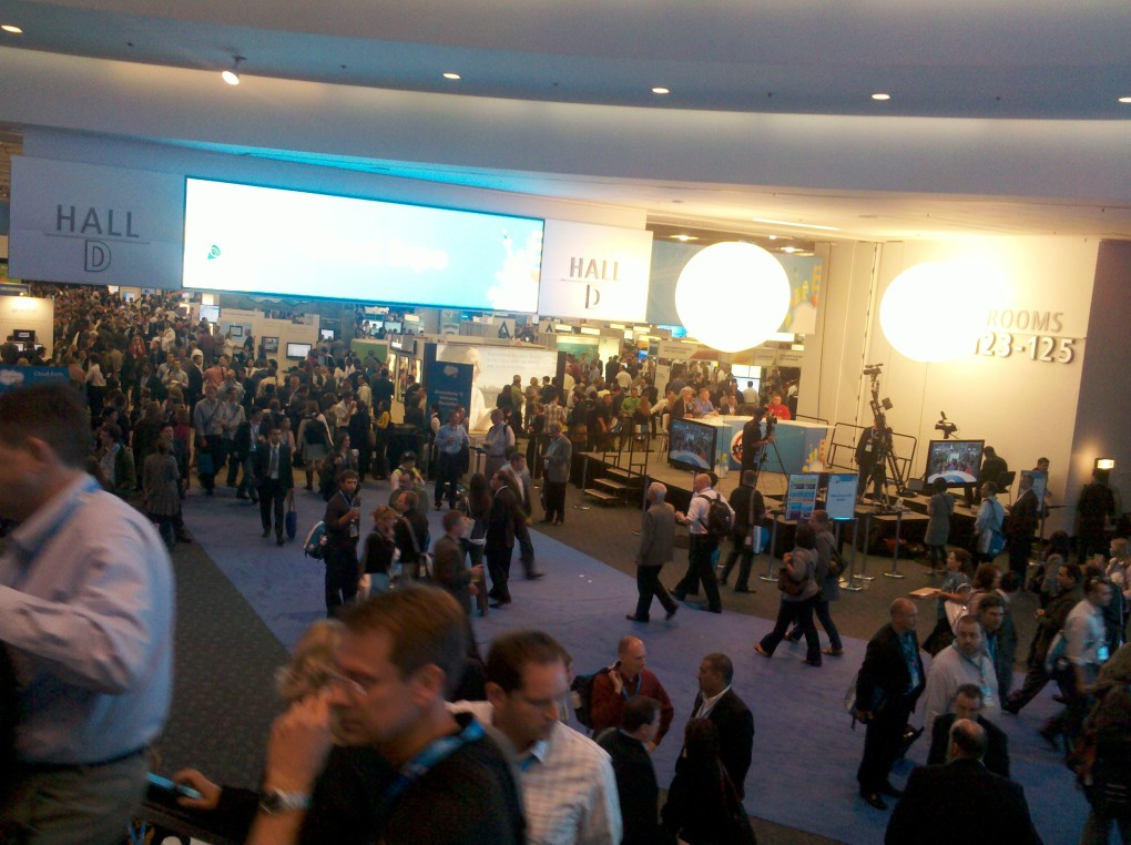 Dreamforce 2011 Vendor Booths