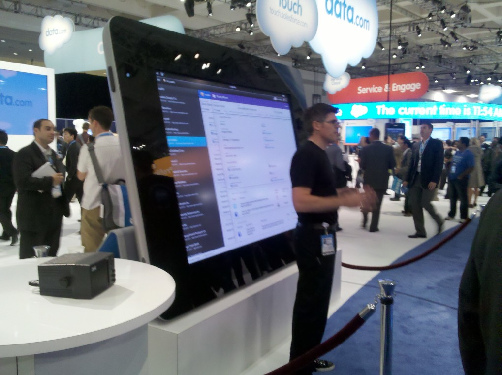 Dreamforce Life Sized Ipad