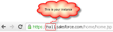 How to Identify Salesforce Instance