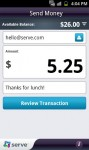 Serve Mobile App Send Money
