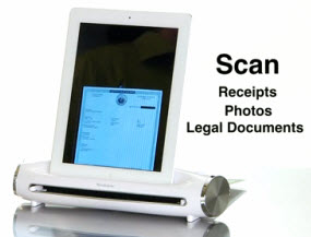 Brookstone iConvert iPad Scanner