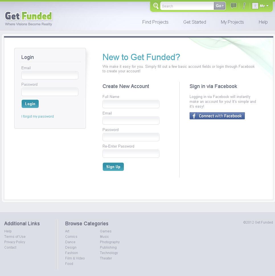 Get Funded Login
