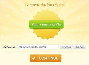 GoFundMe-Step5-Congrats-Page-Live