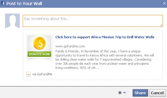 how to create a fund on facebook