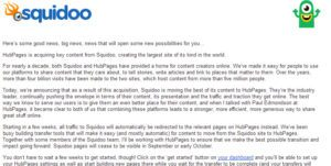 Squidoo Closing Doors Acquired HubPages