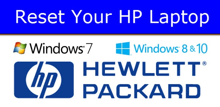How to Reset a HP Laptop Back to Factory Condition