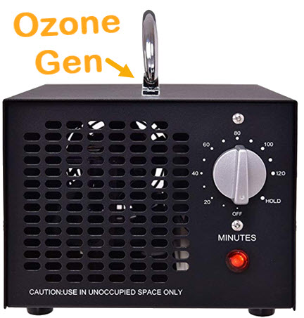 Ozone generators kill viruses