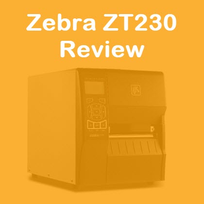 Zebra ZT230 review industrial thermal printer